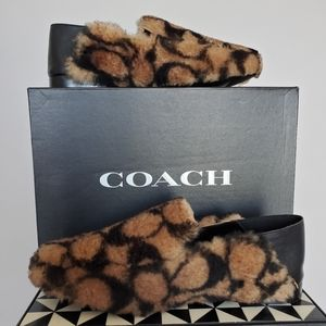 COPY - COACH Women's Holly Logo Shearling Loafers